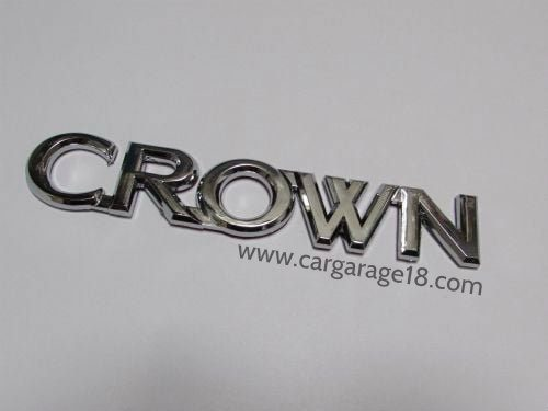 Crown Toyota Badges