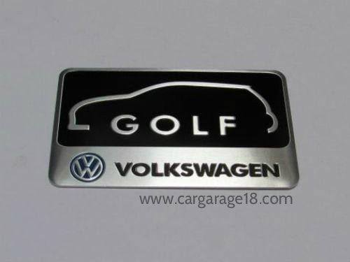 VW Golf Badge Emblem