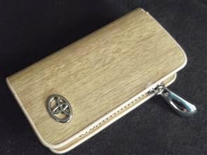 Toyota Key Case Beige Colour