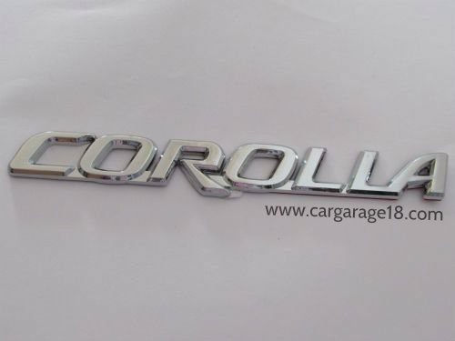 Corolla Badge Emblem