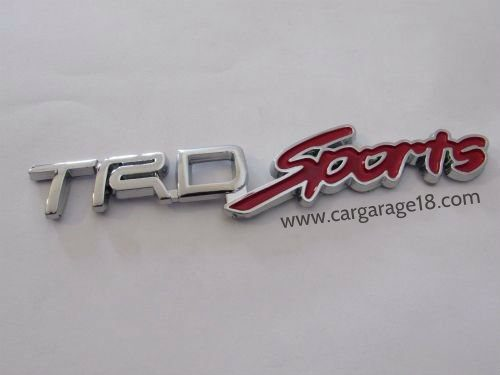 TRD Sport Badge Emblem Small