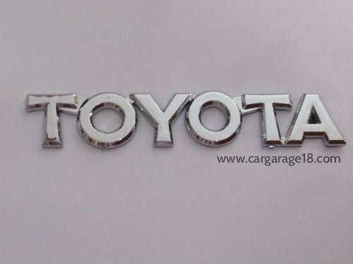 Toyota Letter Logo Size 15x2.5