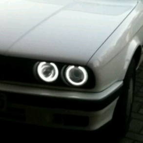Angel Eyes Rings White E30 E32 E34
