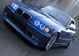 Angel Eyes Rings Projector Blue E36 E39 (97-00) E46