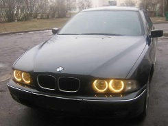 Angel Eyes Rings Projector Yellow E36 E39 (97-00) E46