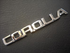 Corolla Emblem For Toyota