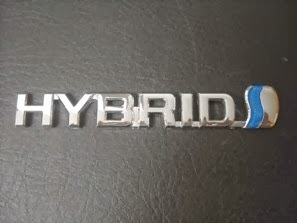 Hybrid Emblem For Toyota
