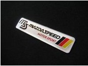 Mazdaspeed Red Yellow Black