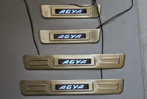 Door Sill Plate LED Toyota Agya