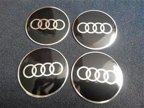 Audi Emblem Wheel Centre Cap Sticker Logo Badge Wheel Trims Mm - Audi emblem