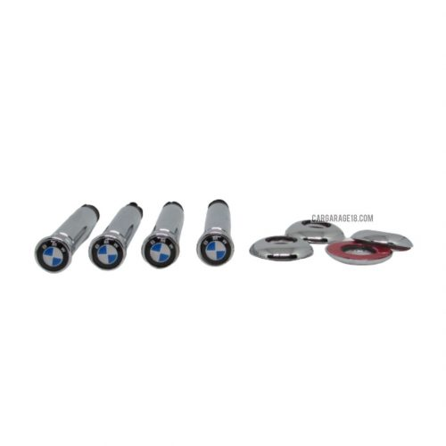 BLUE CHROME DOOR PIN LOCK FOR BMW