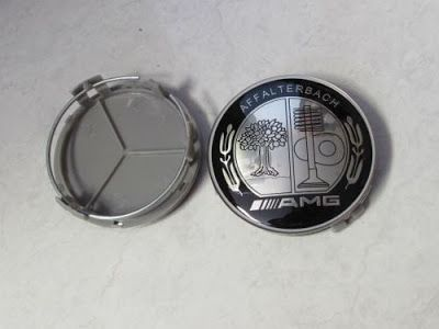 75mm Car Wheels Center Caps Hub Cover Emblem Badges For AMG CLK ML
