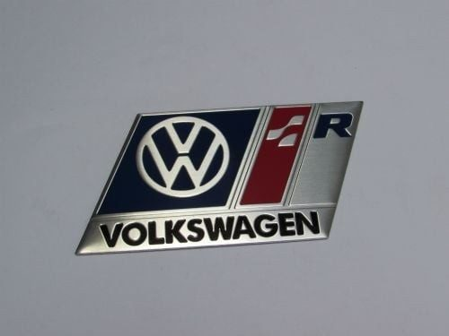 Side Rear German RACING Speed Decal Emblem Badge Sticker For Volkswagen VW