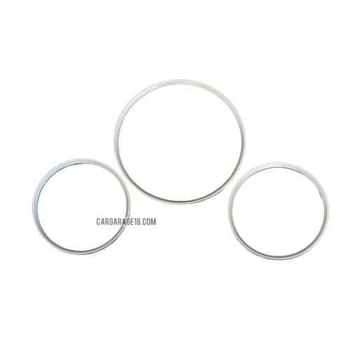 SILVER GAUGE RING CLUSTER FOR MERCEDES BENZ W202 (1993-1995)