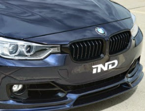 Matte Black Sporty Grill Front Kidney Grille For Bmw F30