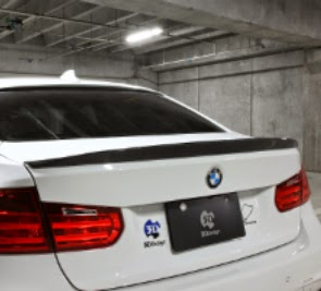 Unpainted Rear Trunk Boot Spoiler Wing Lip For Bmw F30