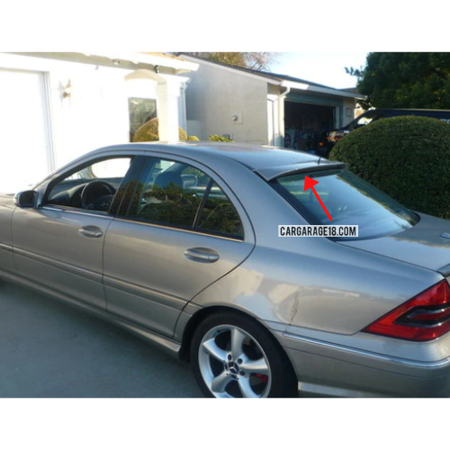 ROOF SPOILER ABS MATERIALS FOR MERCEDES BENZ W211