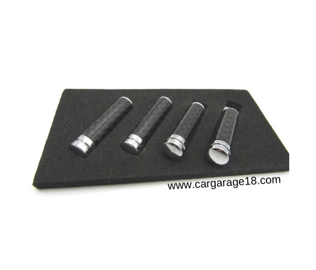 Door Pin Lock Carbon For BMW