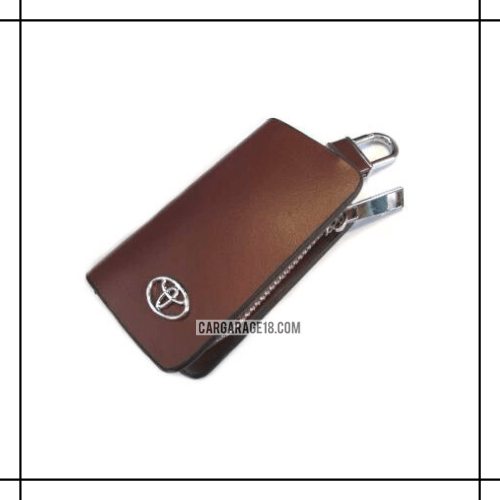 BROWN KEY CASE FOR TOYOTA