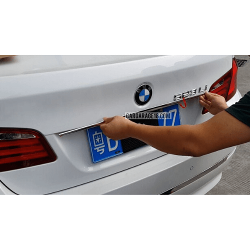 REAR TRUNK MOULDING FOR BMW F10 (09-ON)