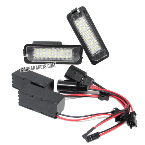 NUMBER-PLATE-LED-LIGHT-FOR-VW-GOLF-6-NEW-VISION-100-WATERPROOF-WITH-SILICON