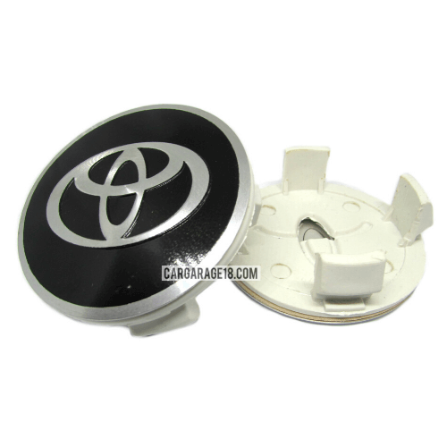BLACK-AND-SILVER-WHEEL-CENTER-CAP-SIZE-63MM-FOR-TOYOTA