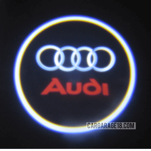 3D DOOR LED RED FLAME FOR AUDI A4 (03-08)