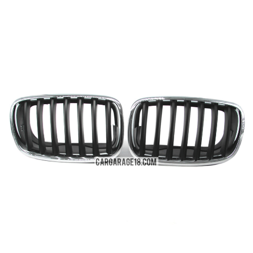 GRILLE-BLACK-CHROME-FOR-BMW-X5-E70-X6-E71