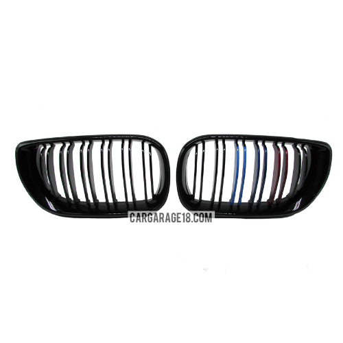 GRILLE-M-COLOUR-GLOSSY-BLACK-FOR-BMW-E46-FACELIFT