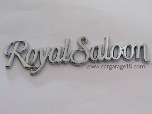 Royal Saloon Badges Emblem