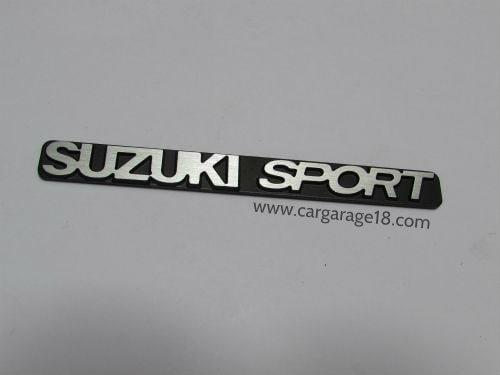 3D Aluminum Emblem Badge Sticker Decal Suzuki Sport For Swift