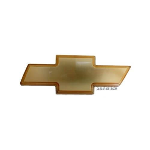 SIZE 130x48mm GOLD CHEVROLET LOGO EMBLEM