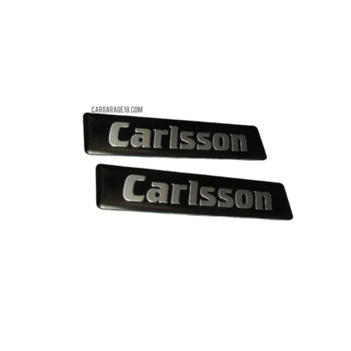 SIZE 89x20mm SQUARE Carlsson SIDE EMBLEM FOR MERCEDES BENZ