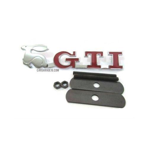 GTI RABBIT GRILLE EMBLEM FOR VOLKSWAGEN