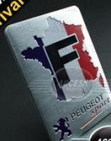 Peugeot F Emblem