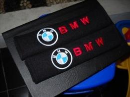 BMW LOGO SEAT BELT COVER