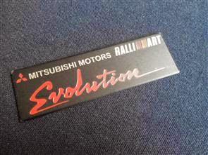 MITSUBISHI MOTORS Evolution EMBLEM