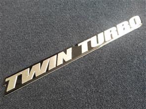 Twin Turbo Emblem