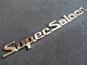 Super Saloon Emblem