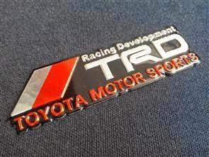 Racing Development TRD TOYOTA MOTOR SPORTS EMBLEM