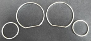 Gauge Rings BMW E36 (91-98) Chrome