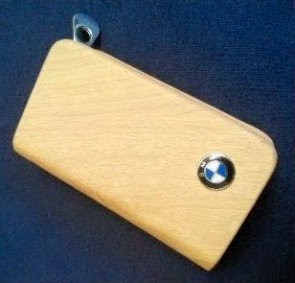 BMW Key Case Light Brown
