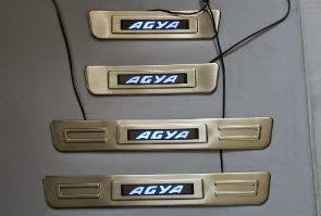 Door Sill Plate LED Toyota Agya