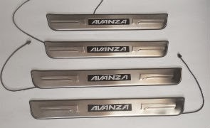 Door Sill Plate LED Toyota Avanza