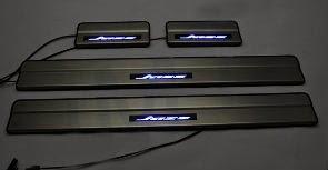 Door Sill Plate LED Honda Jazz 2008
