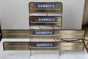 Door Sill Plate LED Toyota Yaris 2014