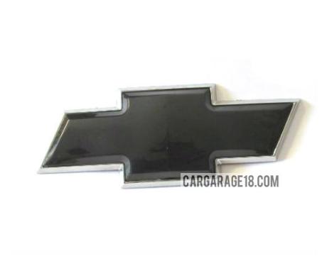 CHEVROLET BLACK EMBLEM SIZE 20.5x7.8cm