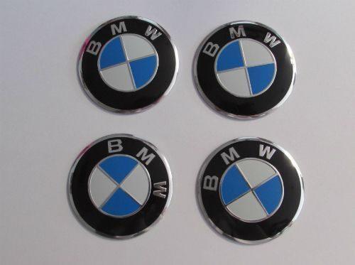 BMW BLUE WHITE 55mm Wheel Center Hub Cap Sticker Emblem Badge Decal Sticker