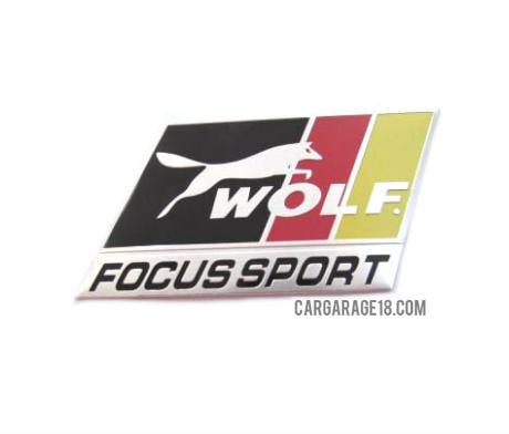 FORD WOLF FOCUS SPORT EMBLEM SIZE 7×4.5cm