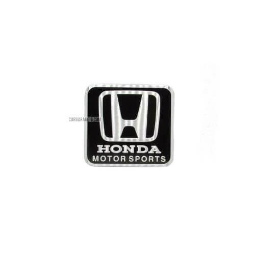 BLACK HONDA MOTOR SPORTS EMBLEM